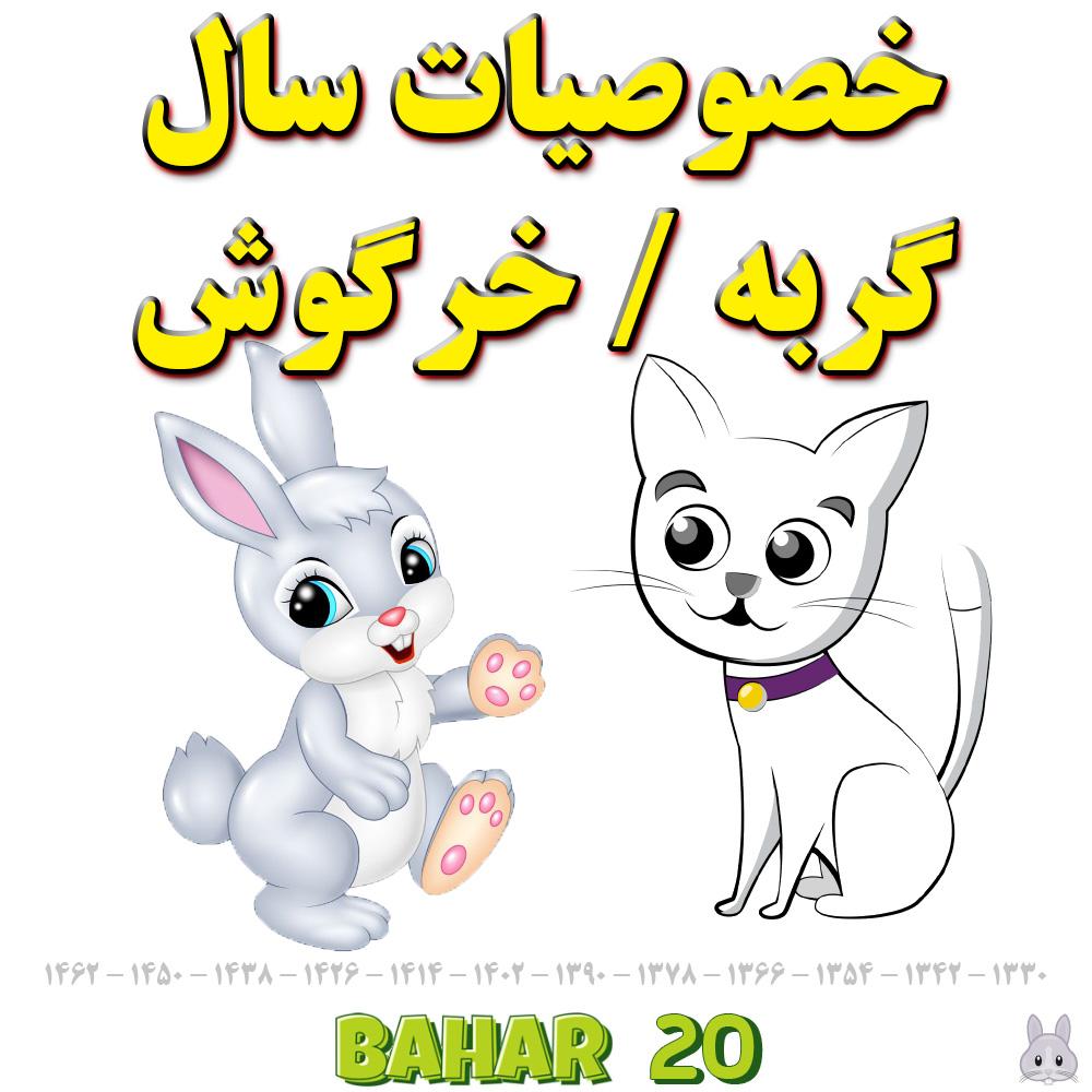خصوصیات سال گربه یا خرگوش